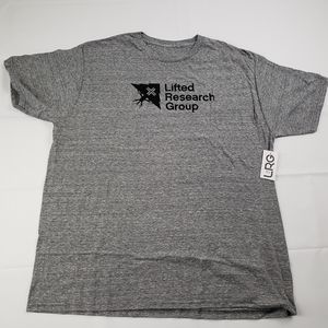 Lrg lifted research group t-shirt gray / size XL /